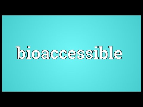 Header of Bioaccessible