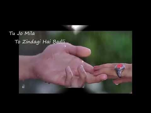 Tu jo mila || Baarish Yaariyan || female version || love song WhatsApp story || lyrics 2017 ||