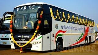 KSRTC scania starts service from Bengaluru   Manorama News