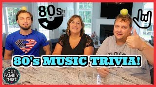 GUESS THE SONG | MUSIC FROM THE 80's | Round 2