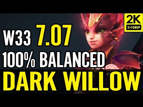 NEW HERO W33 TEST 7.07 META THIS IS SO IMBA!!! DOTA 2