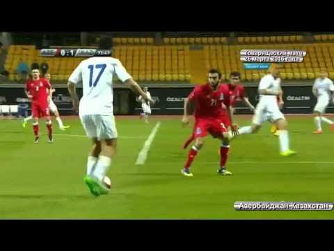 Футбол Азербайджан-Казахстан счет 0:1 товарищеский матч (обзор) / Football Azerbaijan vs Kazakhstan
