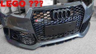 [II] Audi RS7 Grey 2014 Part XV. * układanka... *