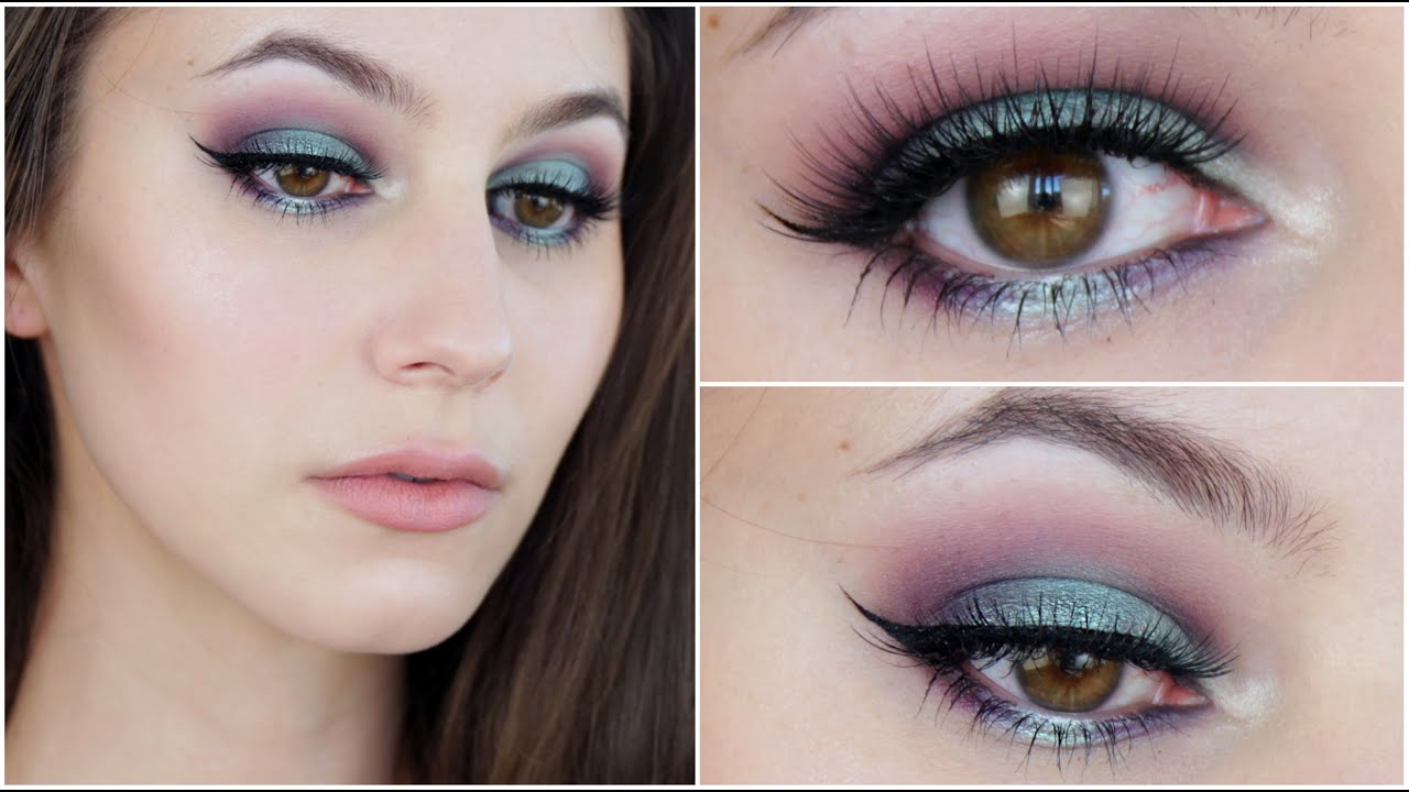 Bright Mermaid Eye Makeup Tutorial Youtube