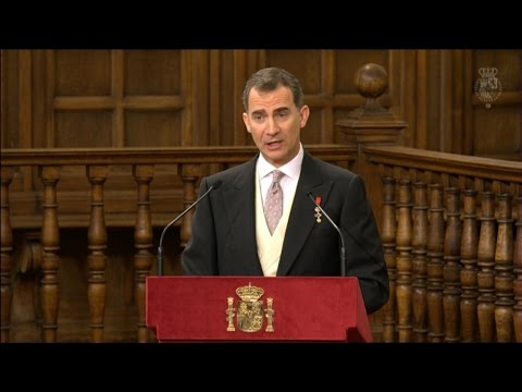 Discurso REY FELIPE VI - Entrega Premio Cervantes a FERNANDO DEL PASO