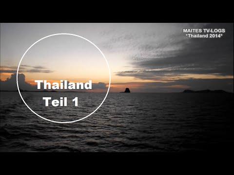 Thailand Urlaub 2014 (Teil 1/4) - Ankunft + Bangkok - Deutsche Vlogger auf Reisen