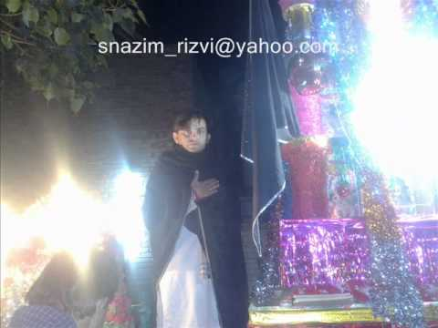 Sari Duniya Hussain(a.s) Hussain(a.s) Kary Rizvia Imambargah, Ameerpur Sadat video