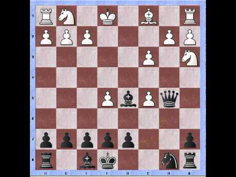 Bastiaan versus hotbabe chess: Alekhine's defense (O'Sullivan's Gambit) annotated
