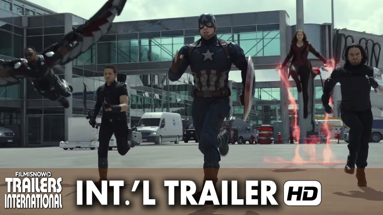 CAPTAIN AMERICA: CIVIL WAR Official International Trailer (2016) [HD]