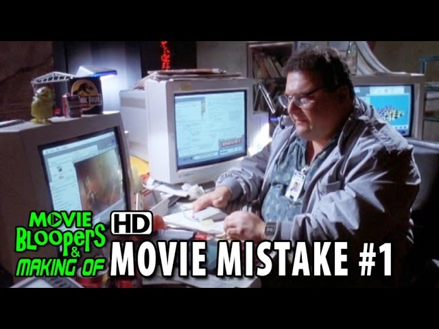 Jurassic Park (1993) movie mistake #1