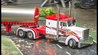 Fantastic  modified RC Trucks and more in motion!