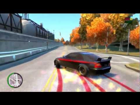 Gta tbogt first drifting video (XBOX360) (MODS)