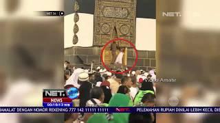 Viral Jemaah Haji Nekat Membuka Pintu Kabah-NET24