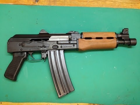 Zastava M85 PAP. 5.56 AK Pistol. Review