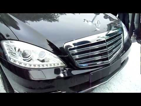 Mercedes Benz S600 Pullman Guard - 'The President's Car', at Auto Expo 2012, New Delhi, India