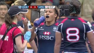 Japan vs Hong Kong Asia Rugby Women Championship