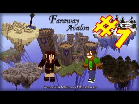 Faraway Avalon #01 Madzia przewodnikiem... Minecraft Survival