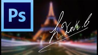 Como digitalizar una firma fácilmente en photoshop Tutorial | Español (2018)