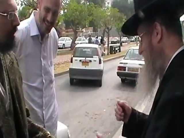הרב דן סגל בפגישה עם הגה''צ דב קוק