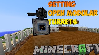 VarCraft Episode - 07 Setting Open Modular Turrets | Moded Survival Minecraft