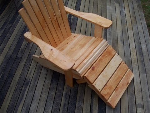 How to build a Cape Cod / Adirondack chair
