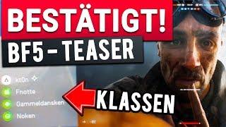 ES IST 2. WELTKRIEG! - Battlefield 5 Teaser bestätigt neues Setting und Klassen