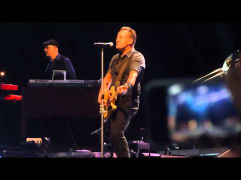 Bruce Springsteen intro & We Take Care of Our Own live in Copenhagen 14.05.2013