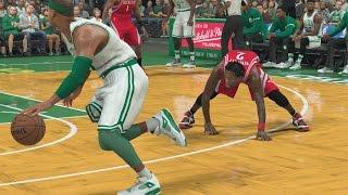 NBA 2K17 PS4 My Career - Got Patrick Beverley Leaning!