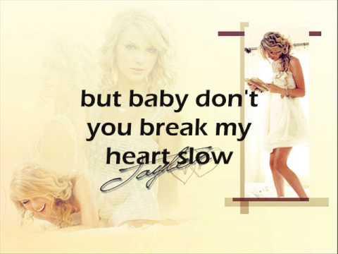 Vonda Shepard - Baby, Don't You Break My Heart Slow Lyrics
