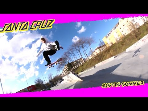 Justin Sommer: Skate park Sorcerer | Santa Cruz Skateboards