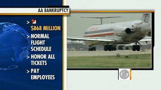 American Airlines parent AMR files for bankruptcy