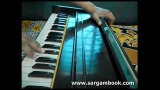 Sanam Re Harmonium Tutorial Sargam Book