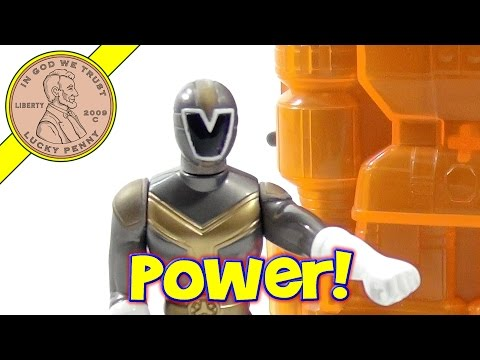 Saban's Power Rangers Lightspeed Rescue 2000 Set, McDonald's Happy Meal Toys
