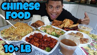 Massive 10+ lb Chinese Food Challenge