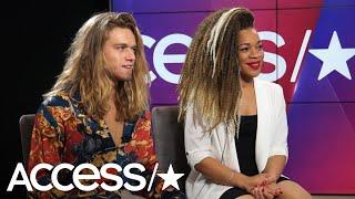 'The Voice': SandyRedd & Tyke James Break Down Their Surprising Elimination Results | Access