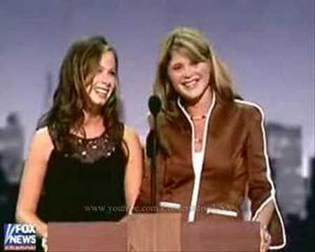 JENNA& BARBARA BUSH [2004 Republican National Convention]