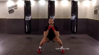 Kickboxing Kardiyo Yaparak Sıkı Kalçalar ve Sıkı Bacaklar için  Hazırmısın?