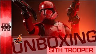 Unboxing Hot Toys Sith Trooper from Star Wars Rise of Skywalker! - Toys Will Be Toys