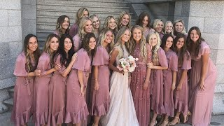 Meet Bride With 20 Bridesmaids