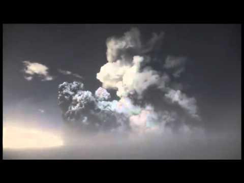 Исландия. Извержение вулкана Гримсвотн 23.05.2011