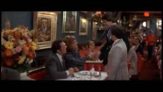 Tootsie- Sydney Pollack and Dustin Hoffman- Russian Tea Room