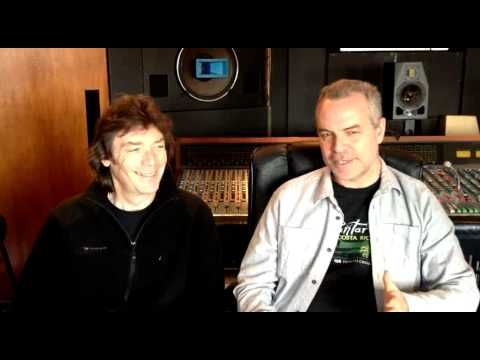 Steve Hackett and Roger King Interview on Sessions for Genesis Revisited 2