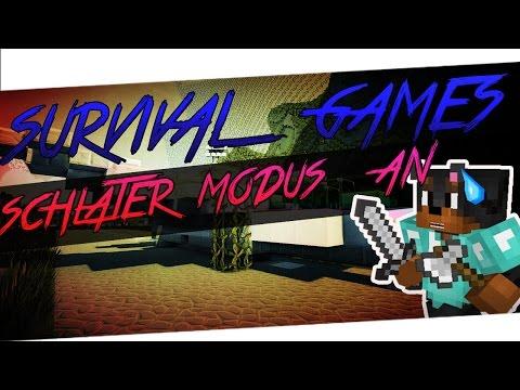 SCHLACHTER MODUS AN - MULTIKILL!! - QUICK SURVIVAL GAMES [MineCraft PVP] [Deutsc