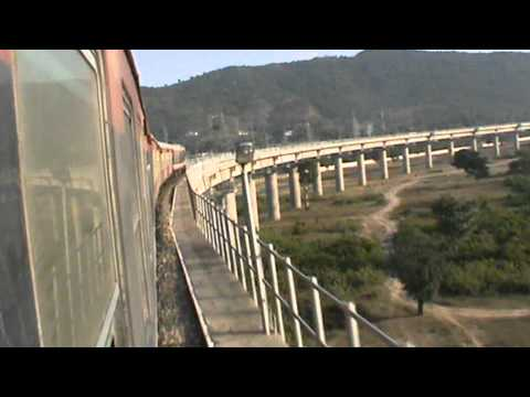 Unforgettable Udhampur (pt. 18): Crossing never-ending viaduct after departing Manwal
