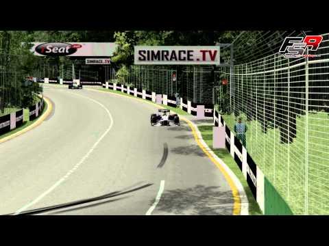 rFactor F1 2013 Formula SimRacing - Round 1. Australia