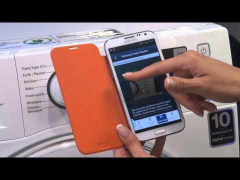 Pralki Samsung   Porady   Działanie Aplikacji Smart Check