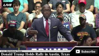 RW Bray at Donald Trump Rally in Austin, Texas [ AMAZING Speech ]