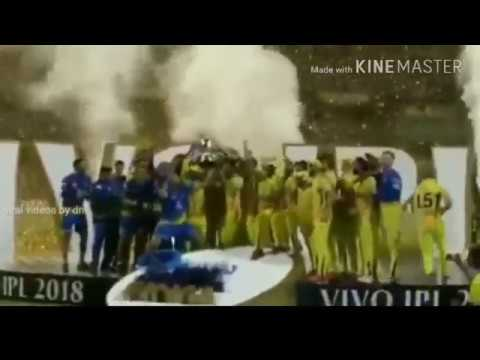 IPL 2018 : CSK celebration  - csk lifting trophy | csk whatsapp status | ipl whatsapp status