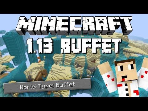 Minecraft 1.13 Buffet НОВА ОПЦИЯ ЗА ГЕНЕРИРАНЕ НА СВЕТОВЕ