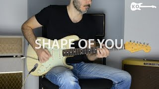 Ouça Ed Sheeran - Shape Of You - Electric Guitar Cover by Kfir Ochaion